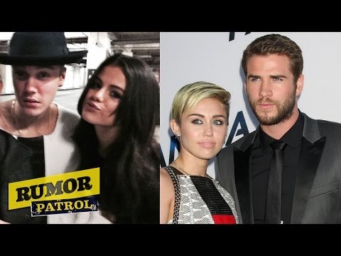 "Selena & Justin Snort Cocaine? Did Liam DISS Miley Cyrus ""Get Over It""?! (Rumor Patrol)"