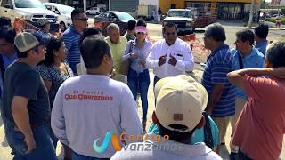 RECORRIDO CON VECINOS EN COL VERSALLES