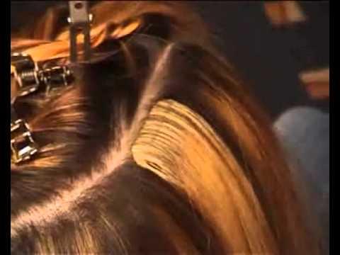 Ленточное наращивание и снятие волос Hair Talk