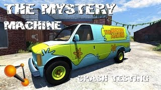BeamNG Drive Alpha The Mystery Machine Crash Testing #63