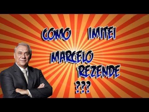 Como eu imitei o Marcelo Rezende?
