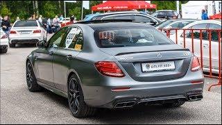 2017 Mercedes-AMG E63 S vs 750 HP Mercedes-AMG CLS 63 S. DragTimes info video - Драгтаймс инфо видео.