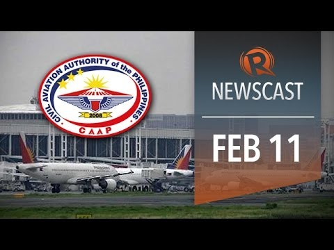 Rappler Newscast: No aviation upgrade, solon charged, Taiwan and China talk