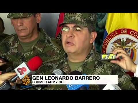 Colombia fires army chief over scandal