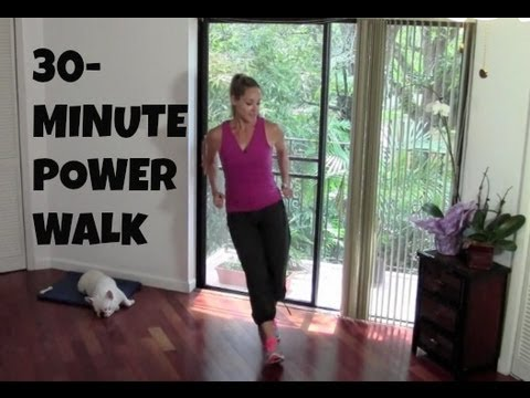 Power Walk (fat burning, power walking, walking workout)
