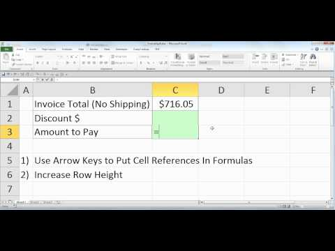 Excel Magic Trick 826: Formatting Floods Out Cell References When Making Formulas