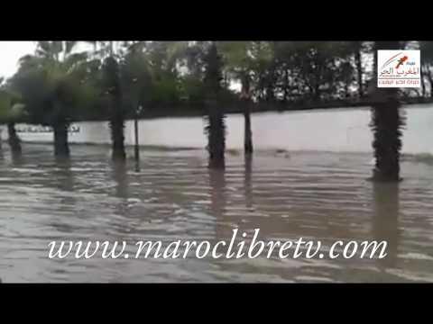 شوهة – مدينة أكدير السياحية تغرق