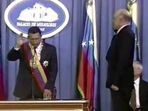 Chávez Juramenta su Primer Gabinete 02-Feb-1999