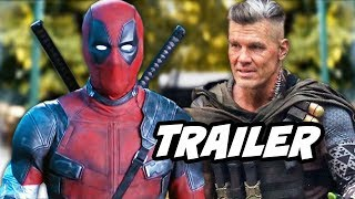 Deadpool 2 Trailer - Cable, New Villains and Deadpool Animated Series Breakdown
