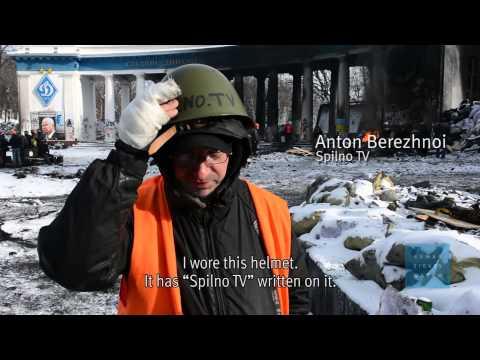 Ukraine: Police Attacked Dozens of Journalists, Medics
