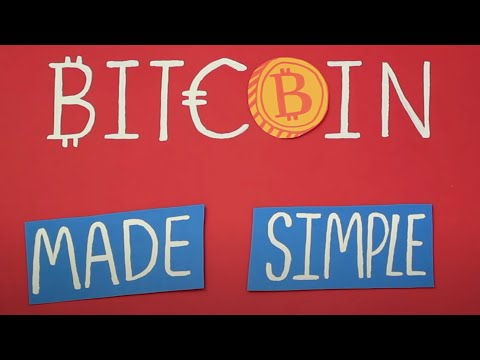 Bitcoin explained and made simple | Animated explainers