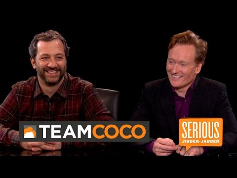 Judd Apatow - Serious Jibber-Jabber with Conan O'Brien - CONAN on TBS