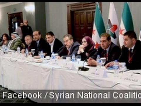 Syrian Opposition Group Agrees To Attend Peace Talks