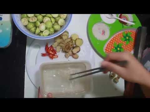 Hướng dẫn cách muối cà nhanh và đơn giản