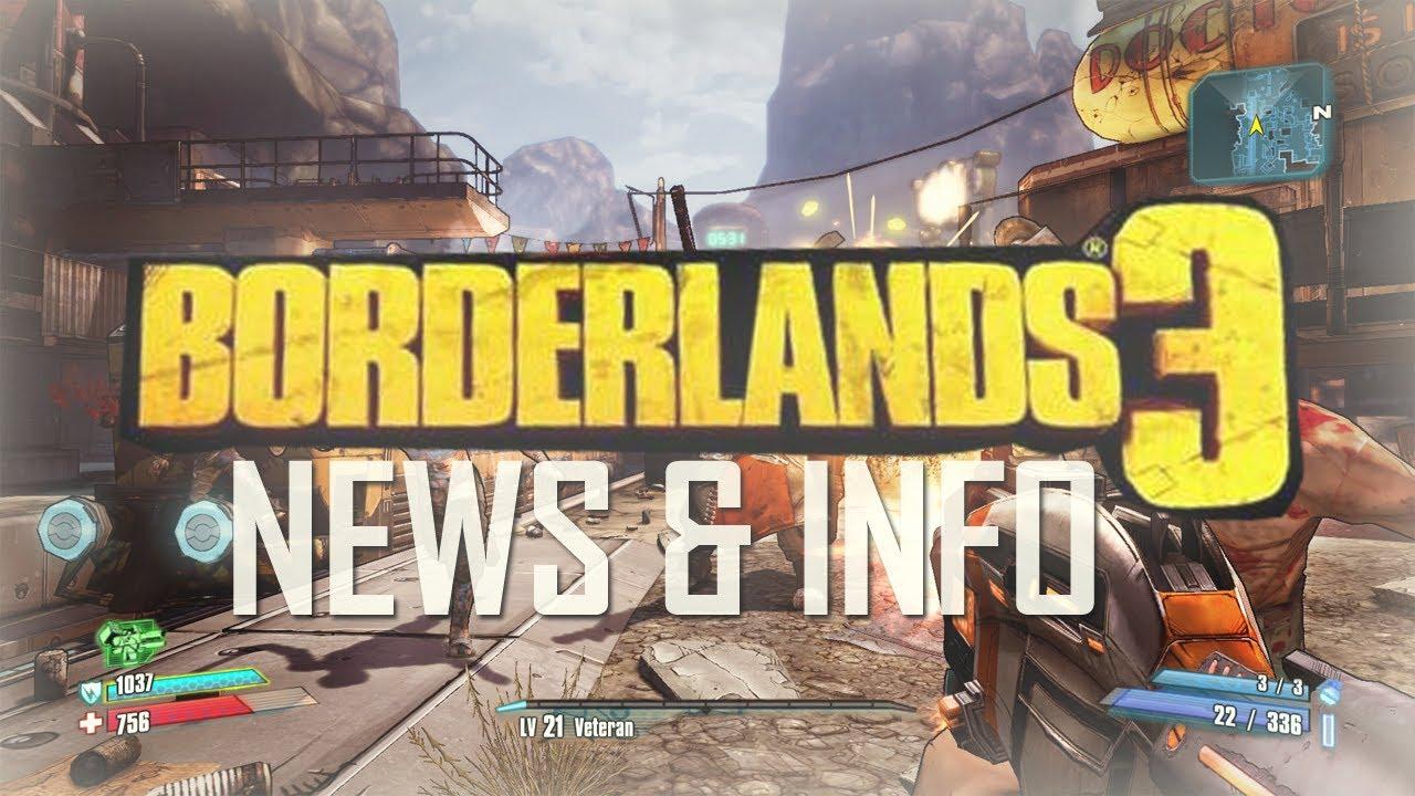 """Borderlands 3 - E3 2014 Trailer and Release Date ... Borderlands 3 News"