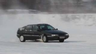 Citroen XM Ice Drift
