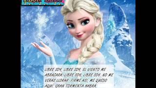 Elsa Libre Soy Frozen, Una Aventura Congelada Letra