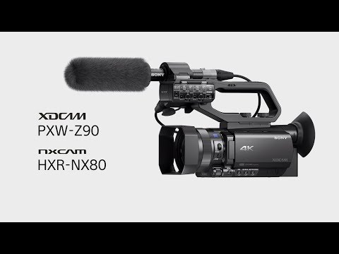 Sony PXW Z90V Compact 4K Camcorder