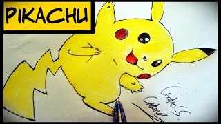 Como Desenhar O Pikachu [Remake] (How To Draw A Pikachu