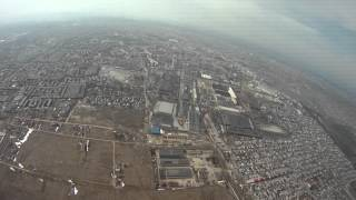 800m height quadcopter fpv, 74 Kmph speed