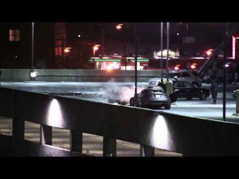Furious 7 Parking Deck Scene Atlanta