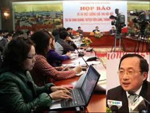 Vụ Tiên Lãng báo An Ninh Thủ Đô bị vạch mặt  .wmv