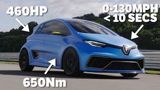 This 460hp Renault Zoe Is My Kind Of Badass EV
