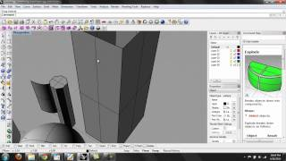 Rhino Solids, Basic Surfaces, And Extrude Curve