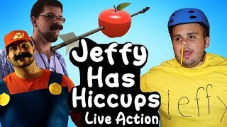 SML Short: Jeffy Has Hiccups! LIVE ACTION