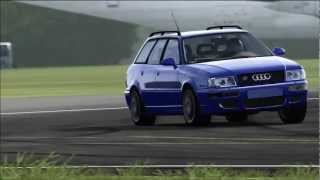 (HD) - Forza 4 - Top Gear - Car Test - 1995 Audi RS2 Avant