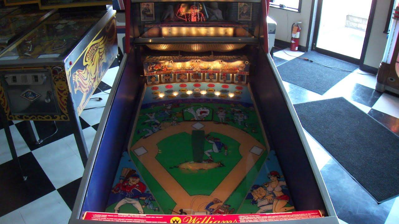 williams baseball pinball machine for sale