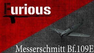 Messerschmitt Bf.109E. Быстрее, выше, сильнее.