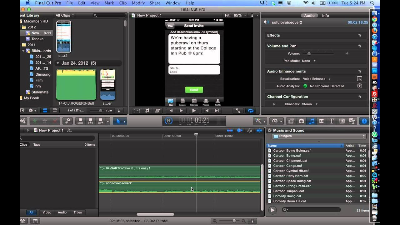 how to reset final cut pro x