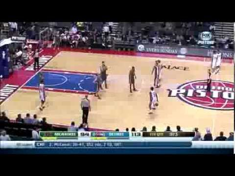 Caron Butler is not impressed with Brandon Jennings' ballhandling
