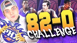 THE 82-0 CHALLENGE : '04-'05 PHOENIX SUNS!! The Best Offense Ever? NBA 2K16 MyLeague Rebuild