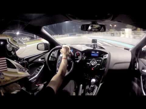 2013 Ford Focus ST on Yas Marina Circuit Track Day