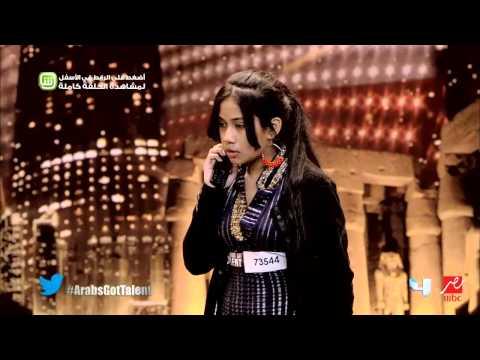 Arabs Got Talent - تجارب الأداء - نغم الجندي
