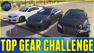 Forza 5 : Top Gear Challenge Best Sedan Challenge (Live
