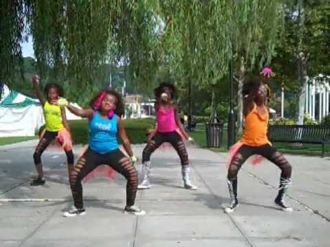 Beyonce-End of Time Choreography (Stajettes dancing to Beyonce)
