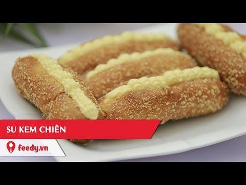 Hướng dẫn cách làm món Bánh Su kem chiên - Fried Cream Puffs