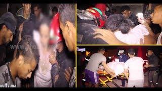 فيديو صادم مباشرة بعد انهيار منزل بالمدينة القديمة بكازا...شوفو كيفاش خرجو الناس في حالة خطيرة جدا |