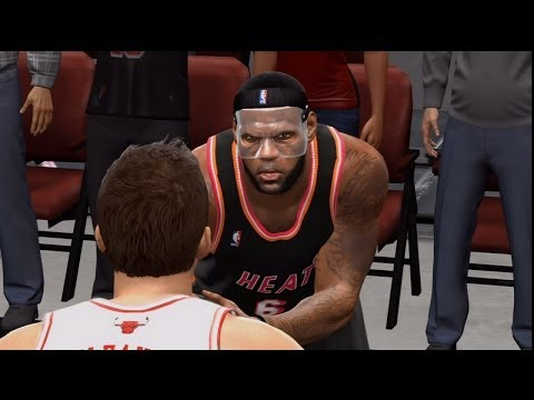 NBA Live 14 PS4 - Miami Heat vs Chicago Bulls - 4th Qrt - HD