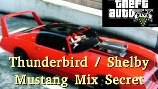 GTA 5 Secret Car Thunderbird / Shelby Mustang Mix