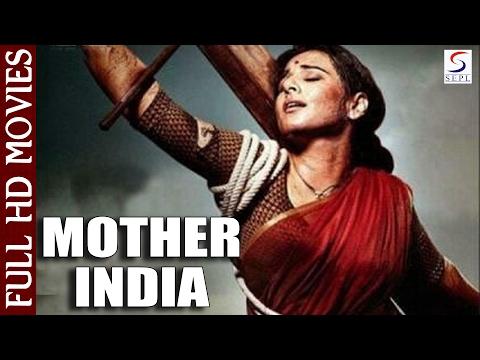 Mother India | Super Hit Hindi Full Movie l Nargis, Raaj Kumar, Sunil Dutt | 1957