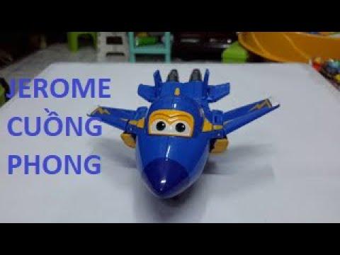 Hướng dẫn biến hình đội bay siêu đẳng (jerome cuồng phong)