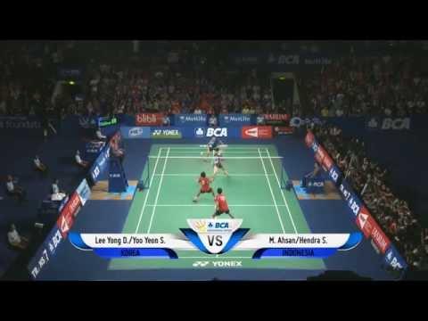 Mohammad Ahsan/Hendra Setiawan (INA) VS Lee Yong Dae/Yoo Yeon Seong (KOR) - BCA Indonesia Open 2014