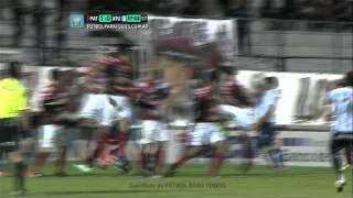 Gol de Rodríguez. Patronato 1 - Atl. Tucumàn 1. Fecha 8. Torneo Primera B Nacional. FPT