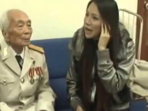 Xúc động Hồ Quỳnh Hương hát tặng Đại Tướng Võ Nguyên Giáp