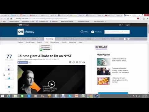 Chinese giant Alibaba to list on NYSE
