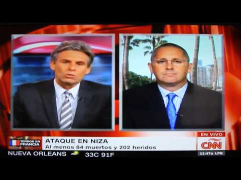 CNN Español interview with Technon CEO about attack in Nice